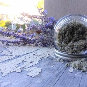 Lemon lavender body scrub